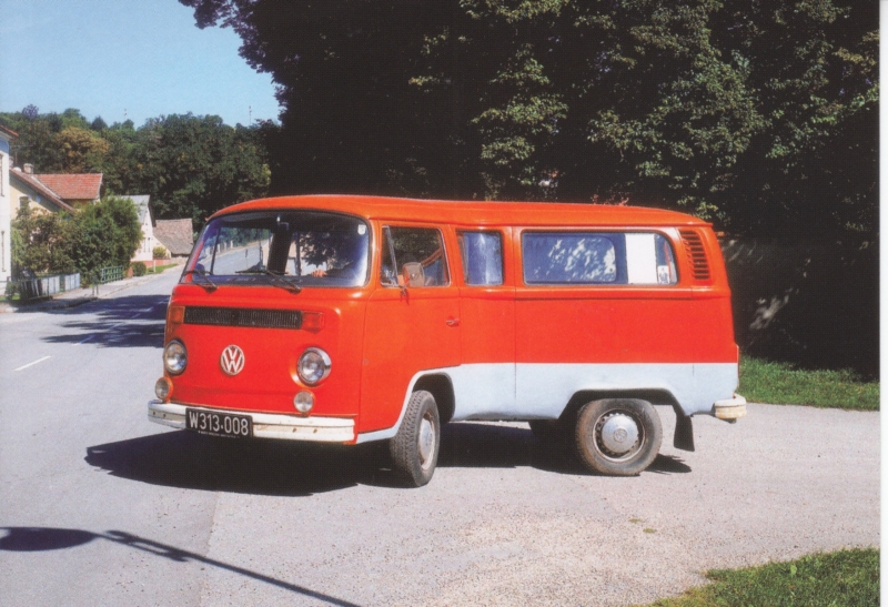 Transporter freecard, A6-size postcard, Dutch issue by Boomerang, P18-09