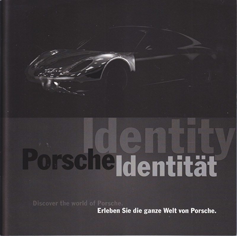 Identity brochure IAA 2011 with 911 Carrera, 38 pages, 08/2011, German/English