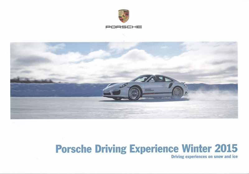 Driving Experience Winter 2015 brochure, 20 pages, 09/2014, English language