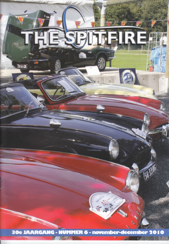The Spitfire club magazine,  A5-size, 52 pages, Dutch language, issue 6 (2010)