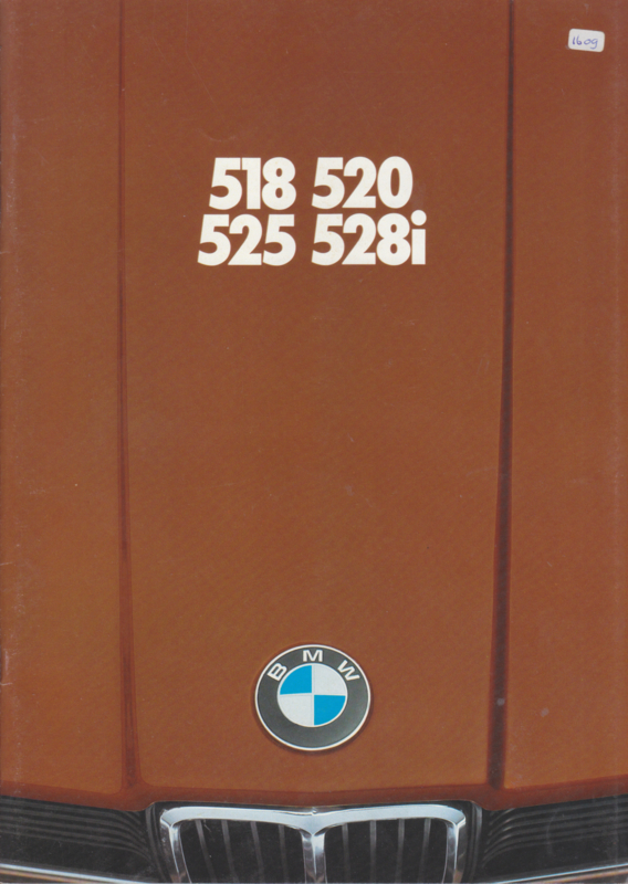 518/520/525/528i brochure, 40  pages, A4-size, 2/1977, Dutch language