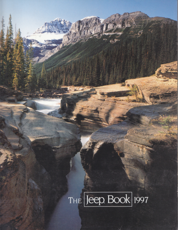The Jeep Book, 1997 prestige brochure, 56 pages, 11/1996, USA