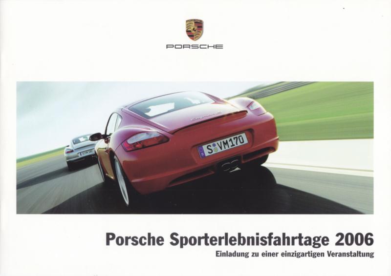Sporterlebnisfahrtage brochure, 12 pages, 02/2006, German language