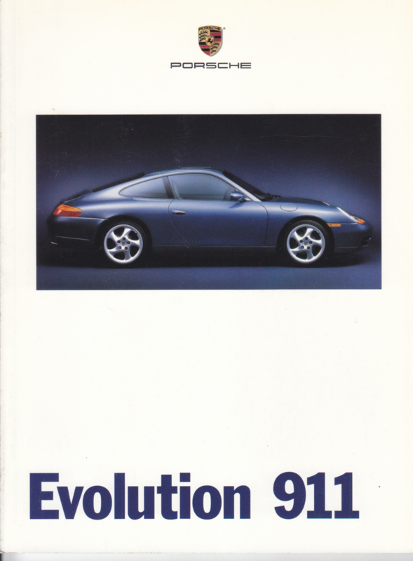 911 program (996) brochure 1999, 54 pages, USA, English
