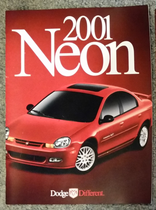 Neon brochure, 26 large pages, 07/2000, English language, USA
