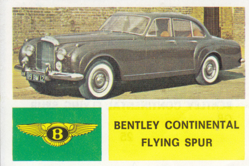 Bentley Continental Flying Spur, 4 languages, # 25