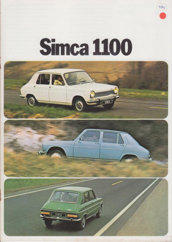 1100, 16 pages, 9/1973, Dutch language