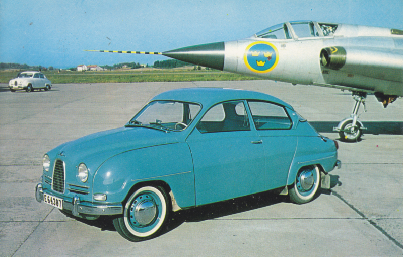 96 with a Saab 35 supersonic aircraft, USA, # C-19504