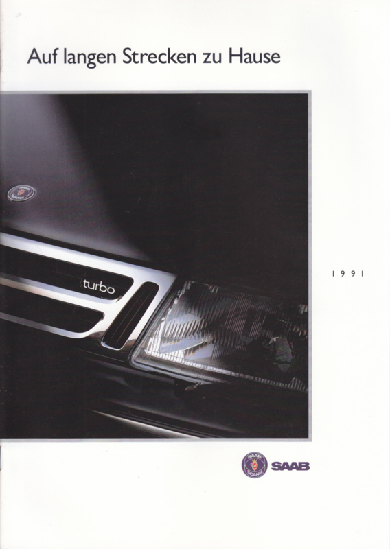 Program brochure, 24 pages, 1991, German language, # 255752