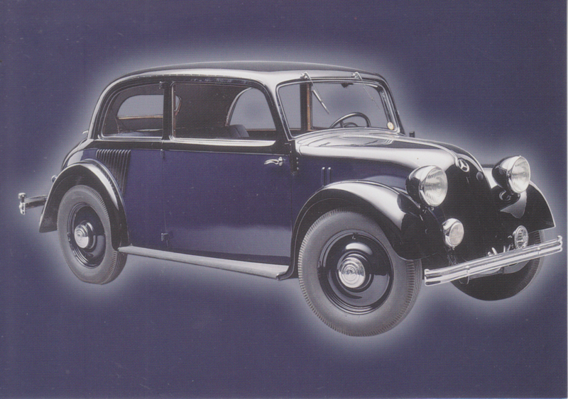 Mercedes-Benz 130 1934, Classic Car(d) of the month 10/2004, Germany