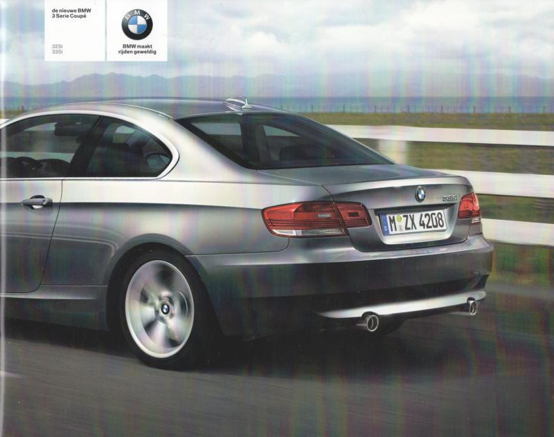 3-Series Coupe brochure, 24 pages, A5-size, 1/2006, Dutch language