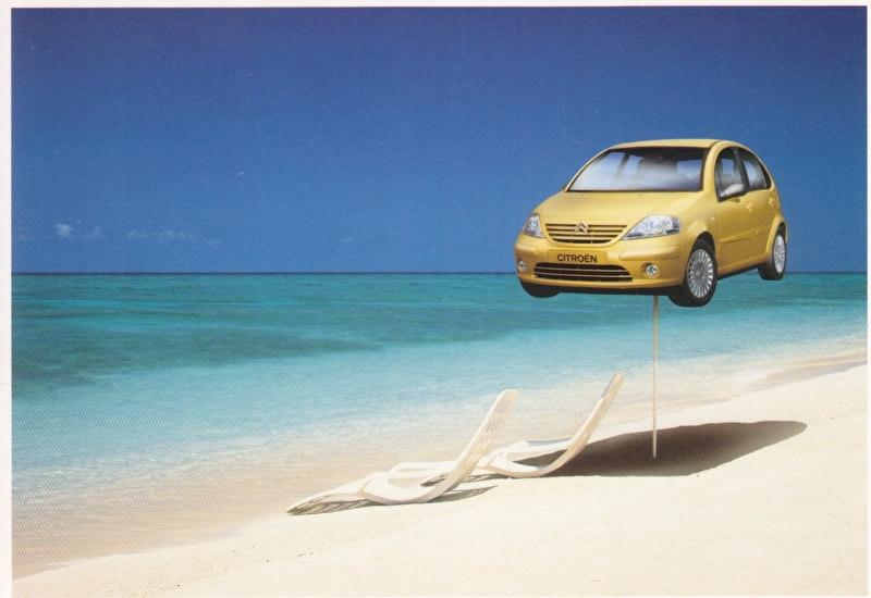 C3 Promocard, # 2841, Italian advertising postcard, # 7