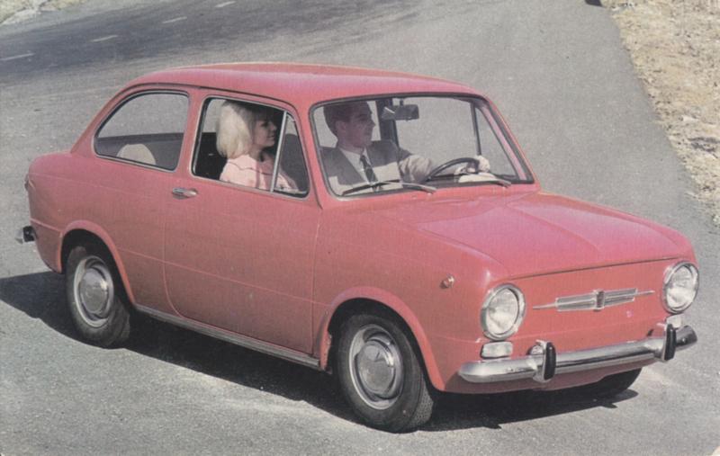 850, standard size, Italian postcard, undated, unused, about 1965