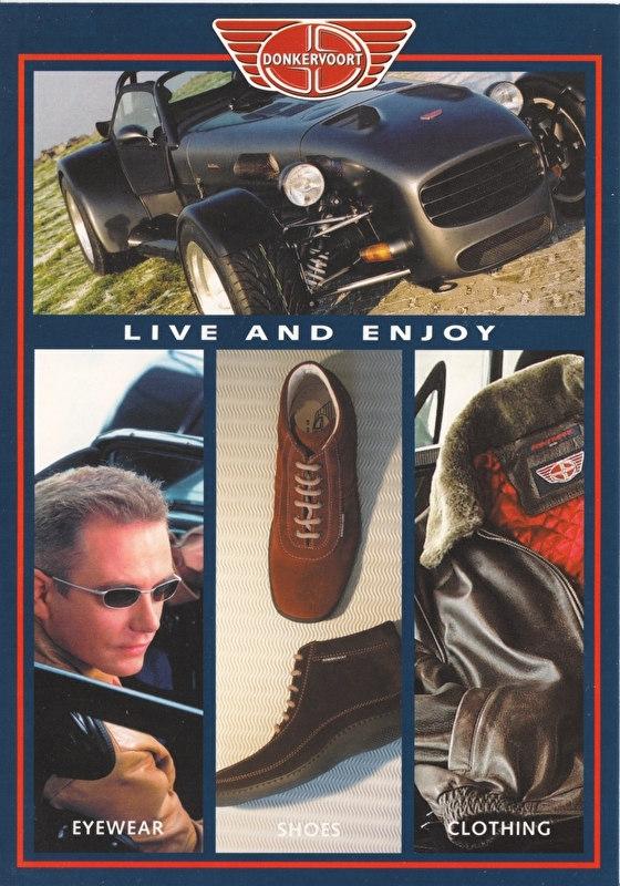 cars & lifestyle. large postcard, A5-size, Dutch language, about 2009
