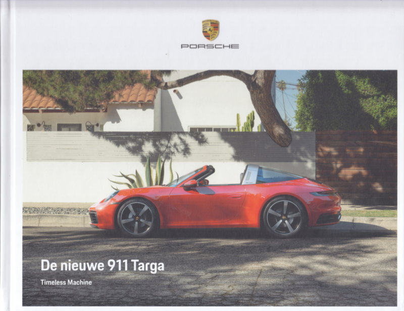 911 Targa brochure, 52 large pages, 05/2020, hard covers, Dutch