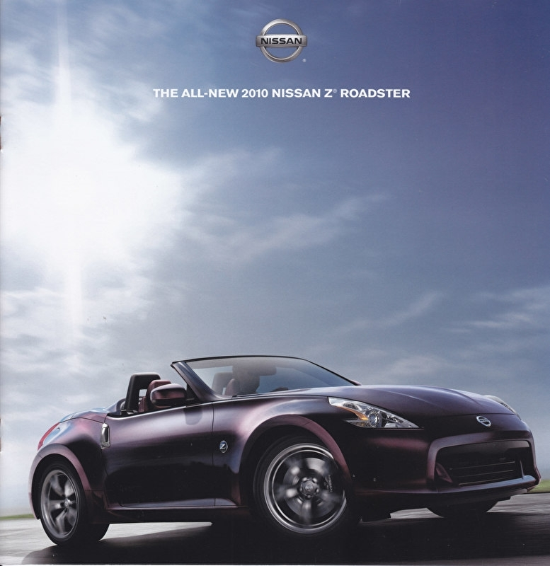 Z Roadster brochure, 10 pages, USA issue, 03/2009, English language