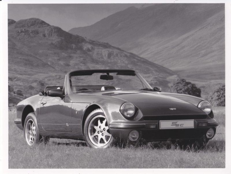 TVR S3c convertible - factory photo - about 1991
