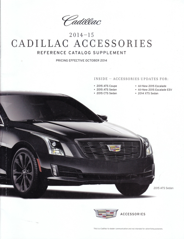 Full range accessories, 24 pages, USA, 10/2014, English language