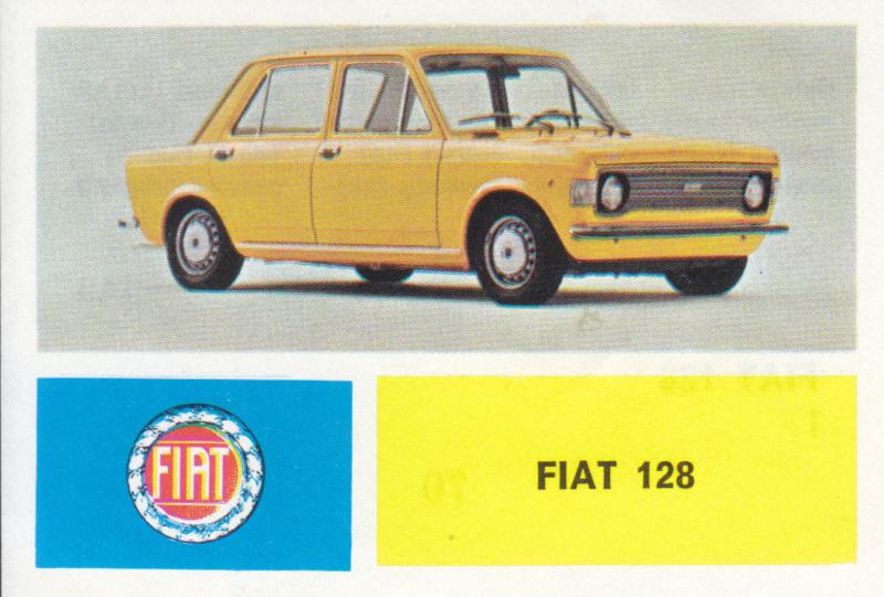 Fiat 128, 4 languages, # 70