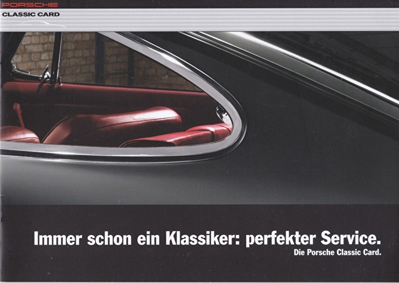 Classic Card folder, 8 pages, 08/2014, German