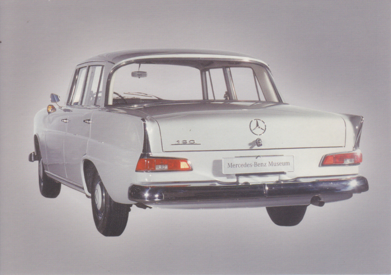 Mercedes-Benz 190 Sedan 1962, Classic Car(d) of the month 9/2004, Germany