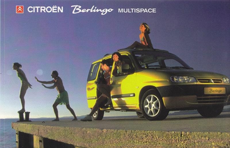 Citroen Berlingo Multispace, sticker, 15 x 10 cm