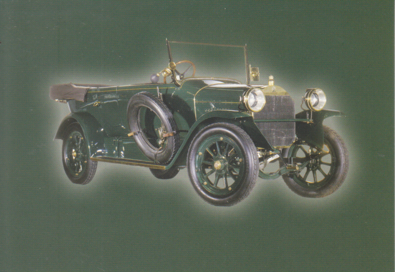 Mercedes 14/30 PS 1912, Classic Car(d) of the month 8/2004, Germany