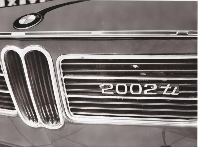 BMW 2002 Ti - 1969 - German text on the reverse