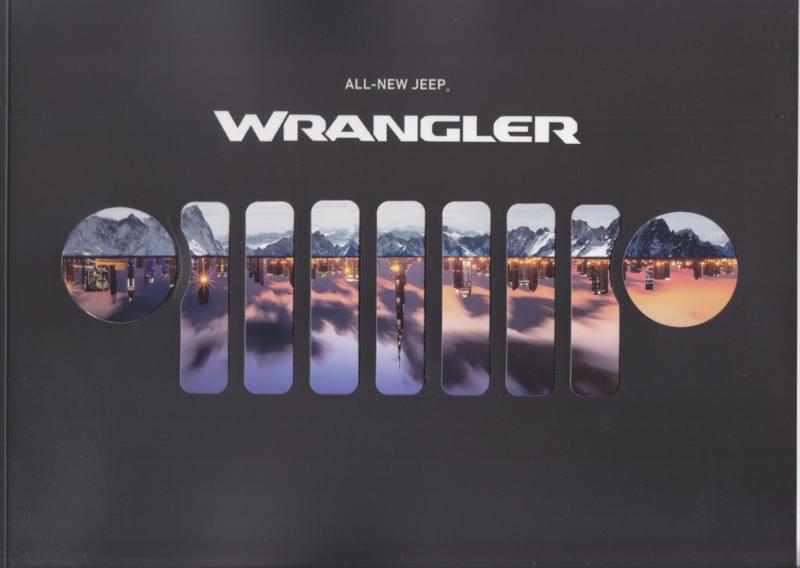 Wrangler brochure, 32 pages, 08/2018, Dutch language