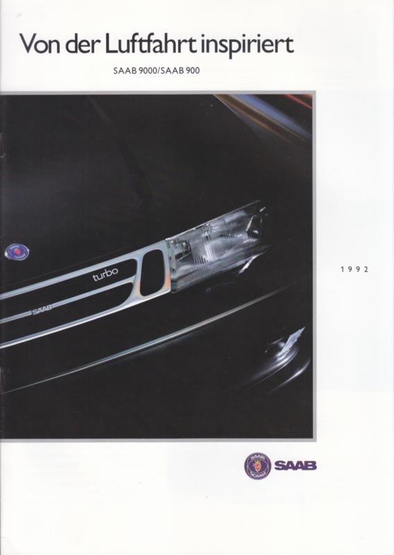 Program brochure, 20 pages, 1992, German language, # 256925