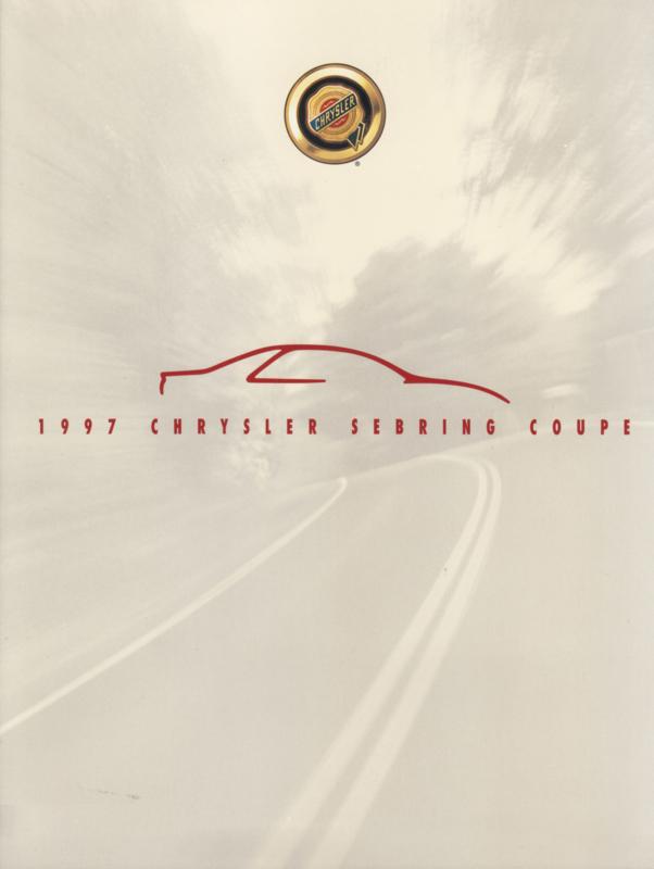 Sebring Coupe brochure, 8 pages, USA,  8/1996, English language