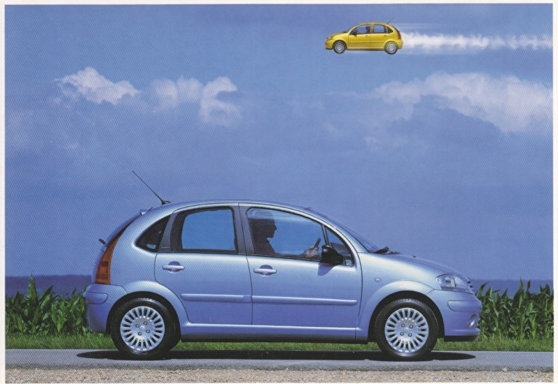 C3 Promocard, # 2835, Italian advertising postcard, # 1