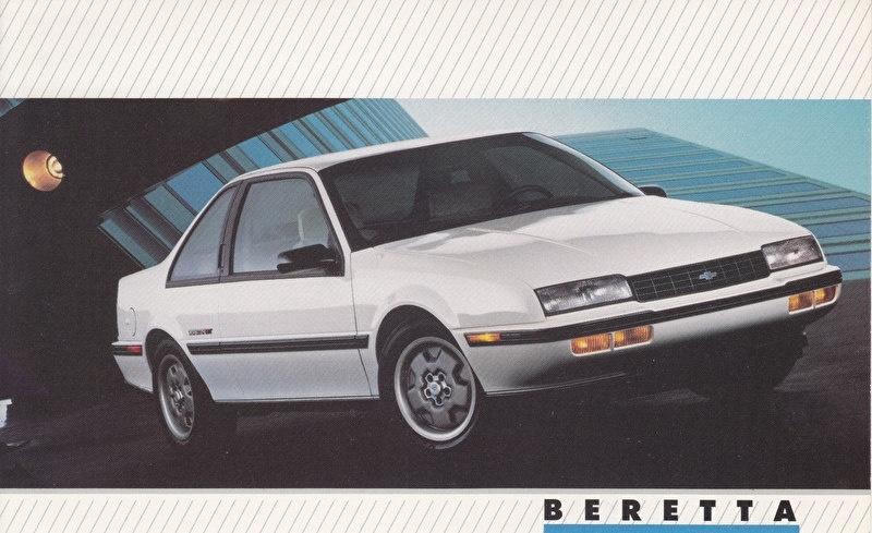 Beretta,  US postcard, large size, 19 x 11,75 cm, 1988