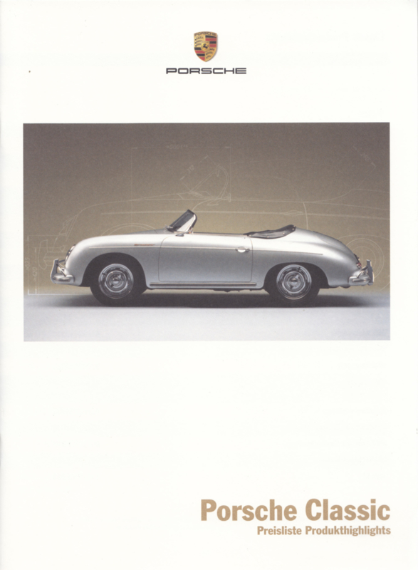 Classic pricelist brochure, 20 pages, 01/14, German
