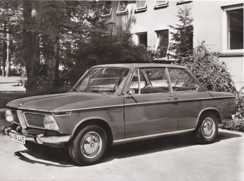 BMW 1600 - 1969 - German text on the reverse