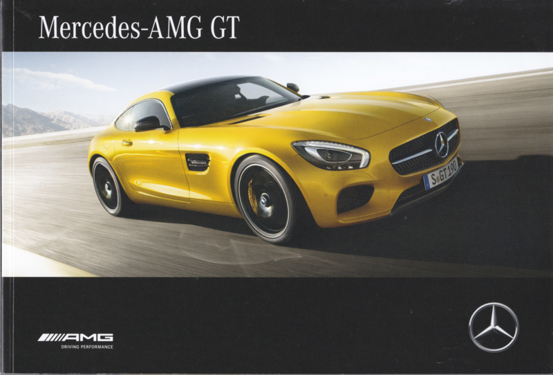 AMG GT brochure, 68 pages, 06/2016, Dutch language