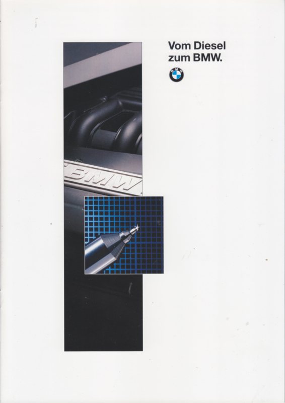 3/5-Series Turbodiesel brochure, 16 pages, A4-size, 2/1994, German language