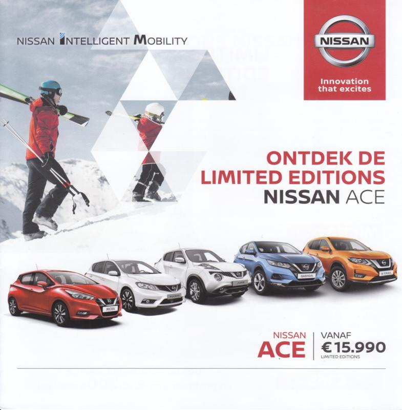 Ace models  brochure, 6 pages, 01/2018, Dutch language
