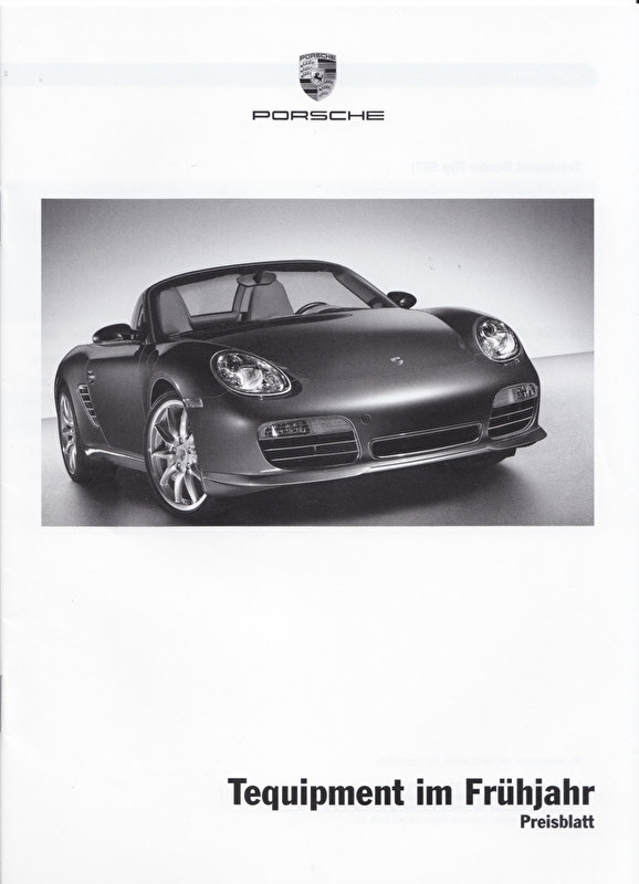 Tequipment Spring pricelist, 16 pages, 02/2006, German