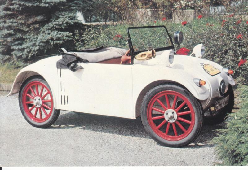 Hanomag 1926, regular size postcard, Dutch, # O 113 6