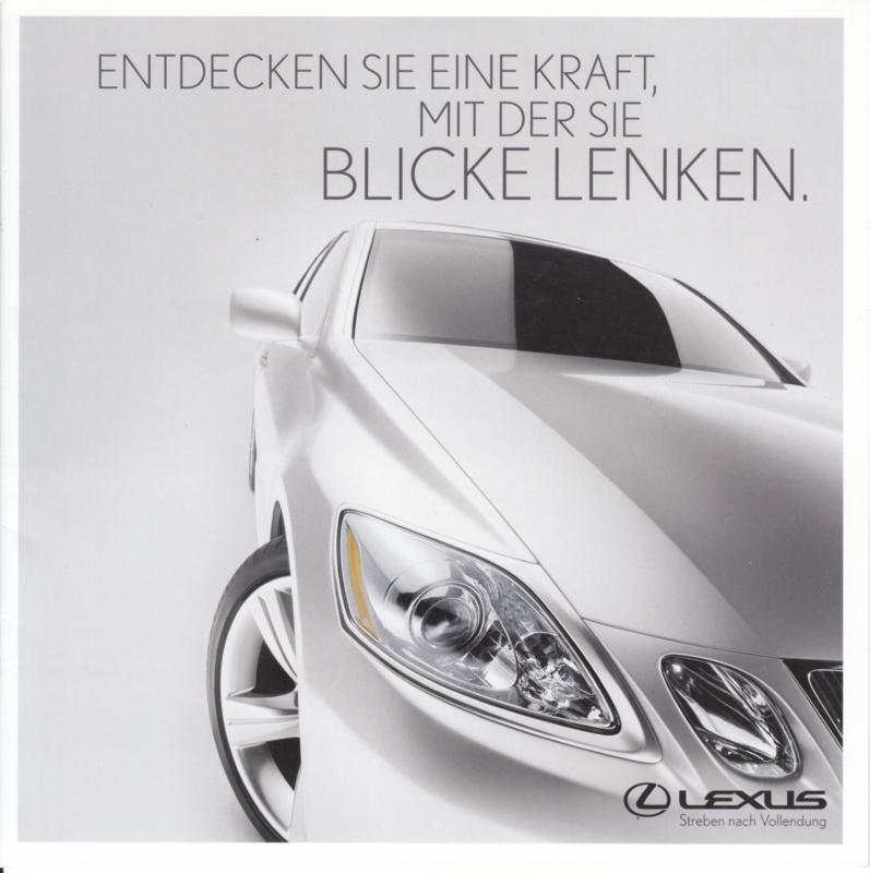Program all model brochure, 12 pages, 2005, German language
