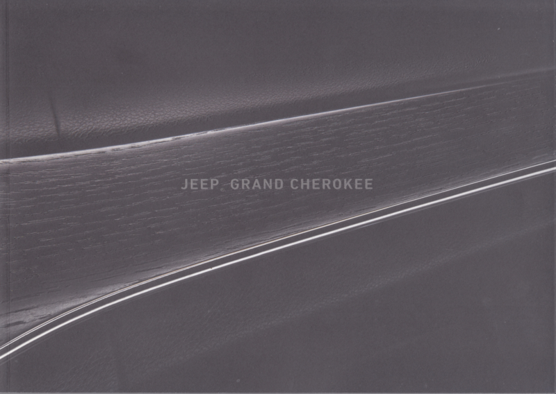 Grand Cherokee brochure, 42 pages, 02/2017, Dutch language