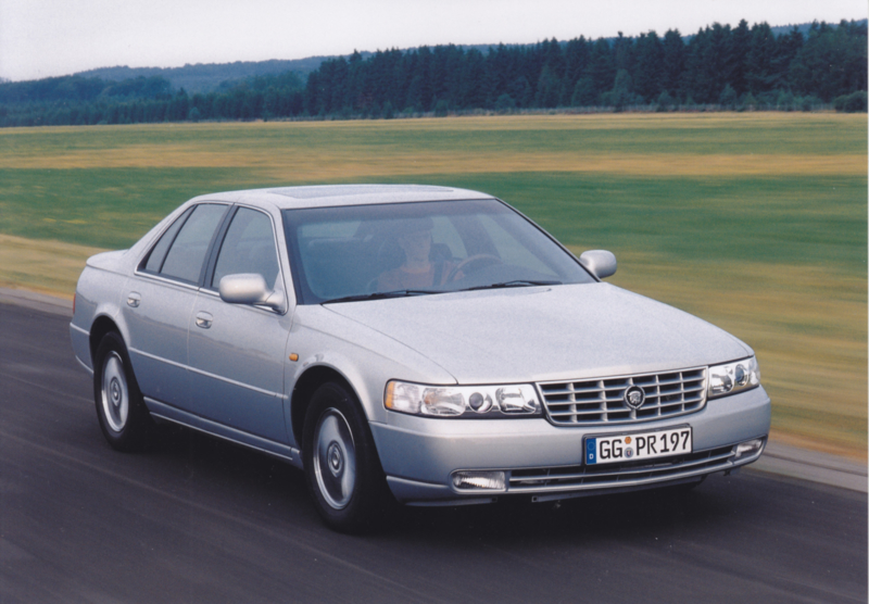 Cadillac Seville STS (Europe, 1999)