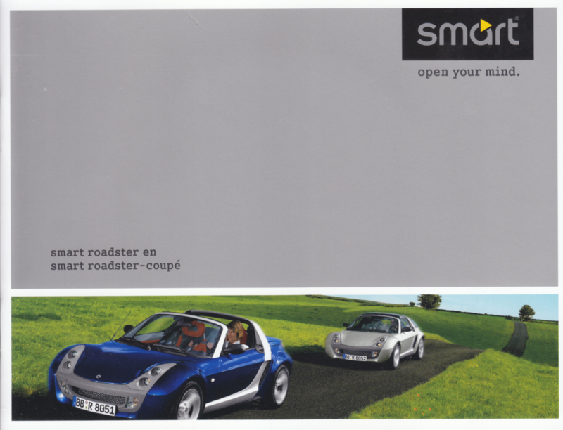 Roadster & Roadster-Coupe brochure,  16 pages, 03/2003, Dutch language