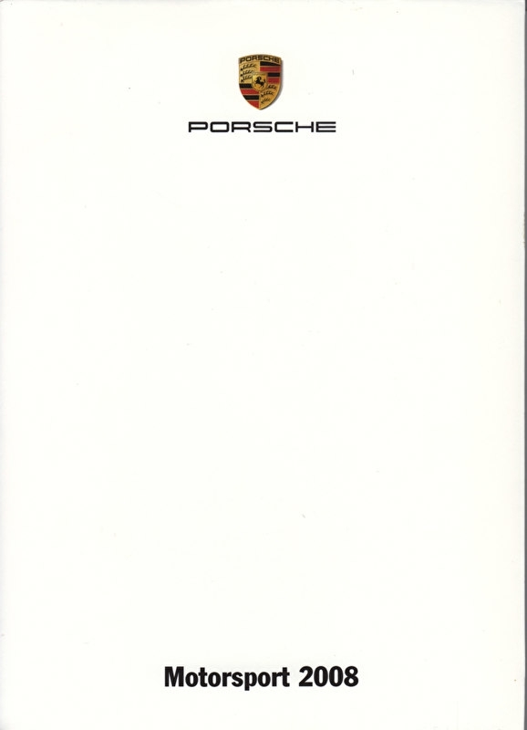 Motorsport, A6-size set with 10 postcards in white cover, 2008, WDMJ 0801 1244 00
