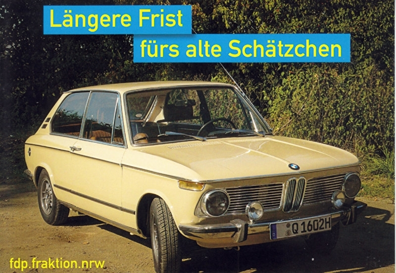 1602 Touring, A6-size postcard, FDP issue, German, 2016