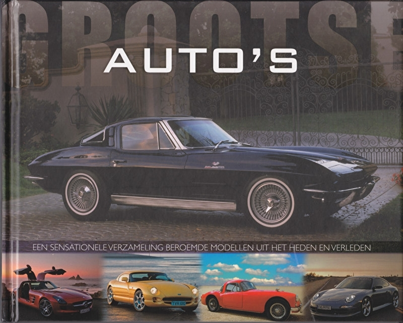 Great cars (Grootse Auto's), 72 pages, Dutch, ISBN 978-1-4454-6866-2