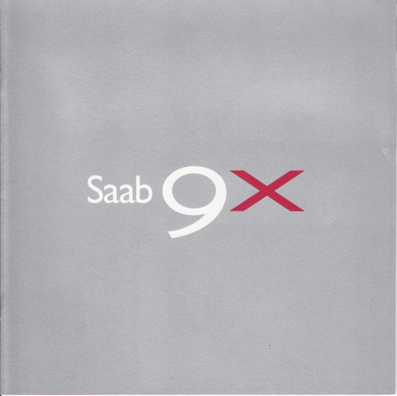 9X Concept brochure, 10 pages, 08/2001, Swedish language