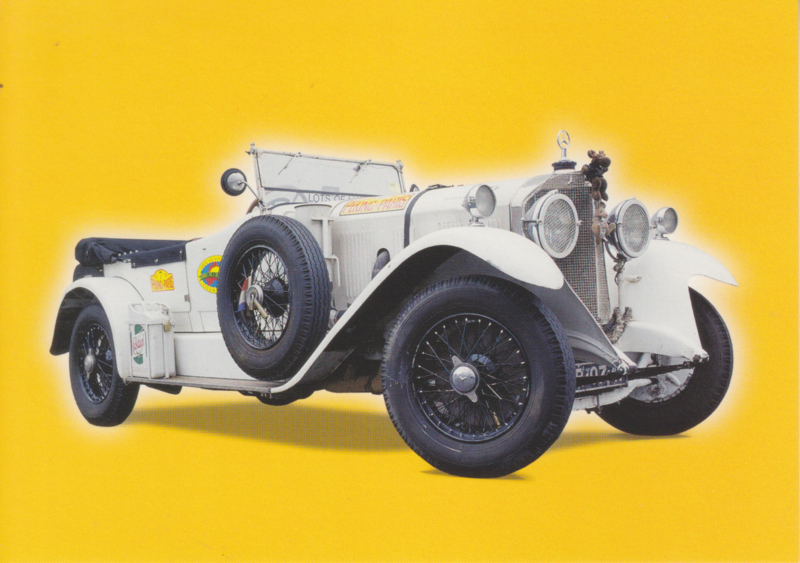 """Mercedes-Benz Model """"K"""" 1927, Classic Car(d) of the month 2/2002, Germany"""