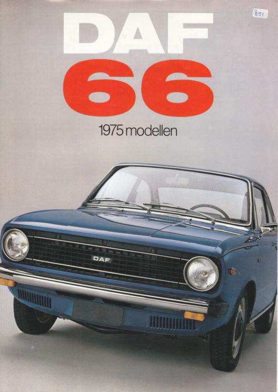 66  all model Variomatic brochure, 6 pages, 12/74, Dutch language